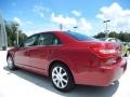 2008 Vivid Red Metallic Lincoln MKZ Sedan  photo #2