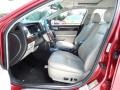 2008 Vivid Red Metallic Lincoln MKZ Sedan  photo #11