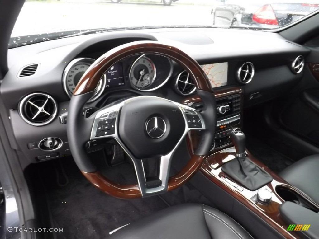2013 Mercedes Benz Slk 350 Roadster Interior Color Photos