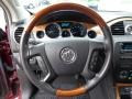 Ebony Black/Ebony Steering Wheel Photo for 2009 Buick Enclave #83276736