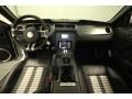 2010 Ford Mustang Charcoal Black/White Interior Dashboard Photo