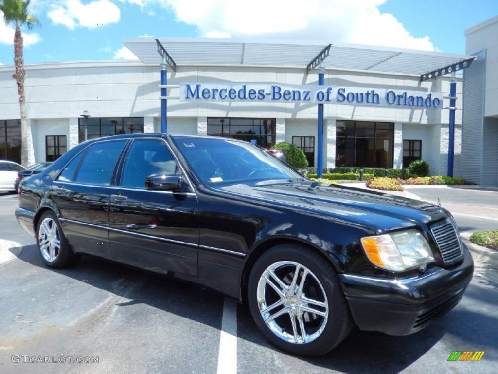 1998 black mercedes benz s 420 sedan 83263173 gtcarlot for Mercedes benz s 420