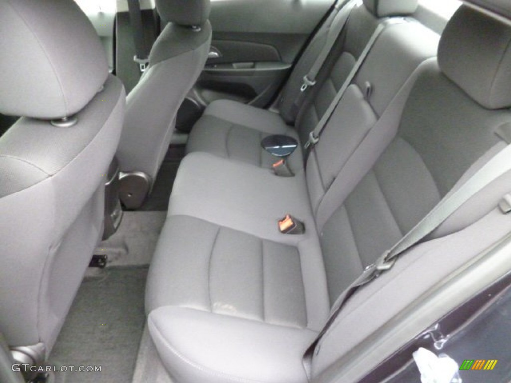 Jet Black Interior 2014 Chevrolet Cruze Lt Photo 83298924