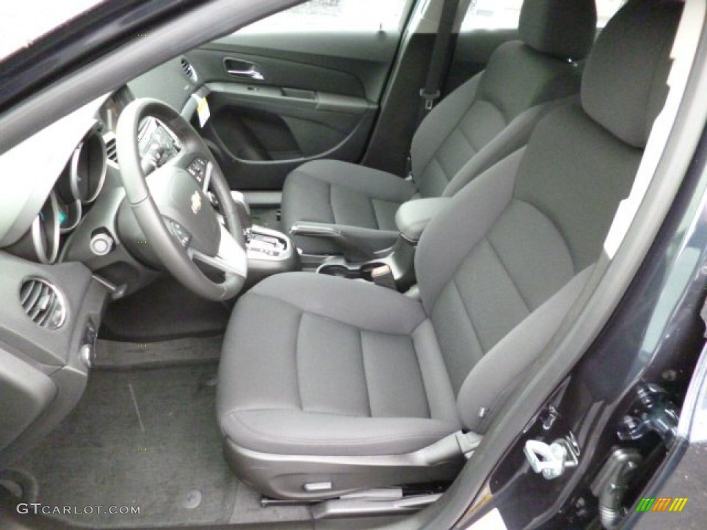 Jet Black Interior 2014 Chevrolet Cruze Lt Photo 83298960