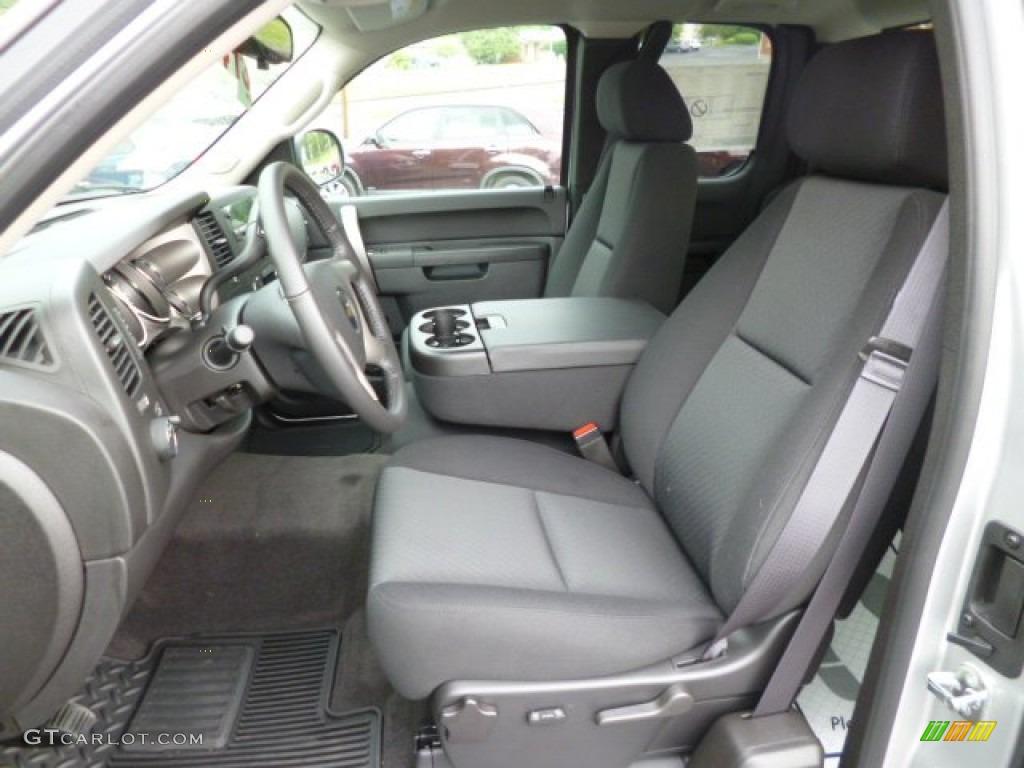 2013 Silverado 1500 LT Extended Cab 4x4 - Silver Ice Metallic / Ebony photo #16