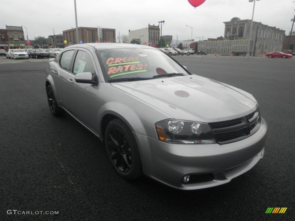 2013 Billet Silver Metallic Dodge Avenger SXT V6 Blacktop #83316973 ...