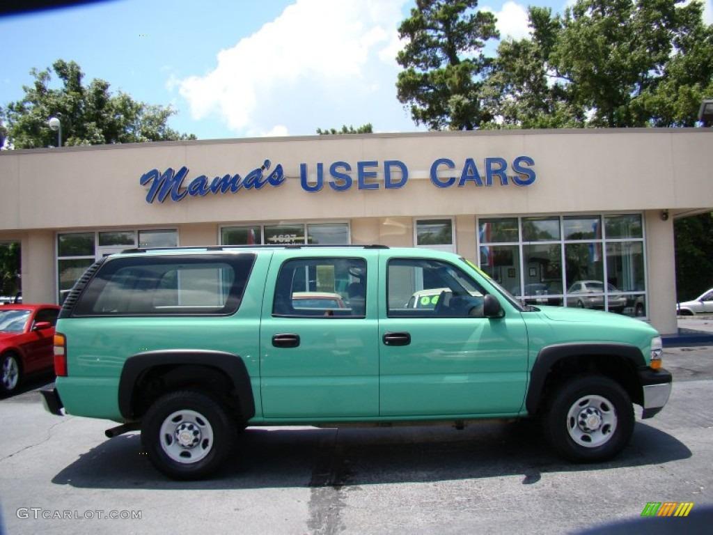 Chevrolet Suburban Paint Colors