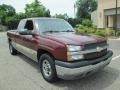 Front 3/4 View of 2003 Silverado 1500 LS Extended Cab