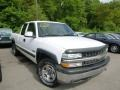 Summit White 2000 Chevrolet Silverado 1500 LS Extended Cab 4x4 Exterior
