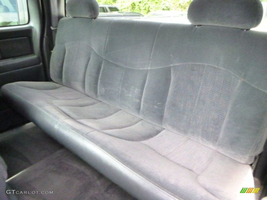 2000 Chevrolet Silverado 1500 LS Extended Cab 4x4 Rear Seat Photo #83349153