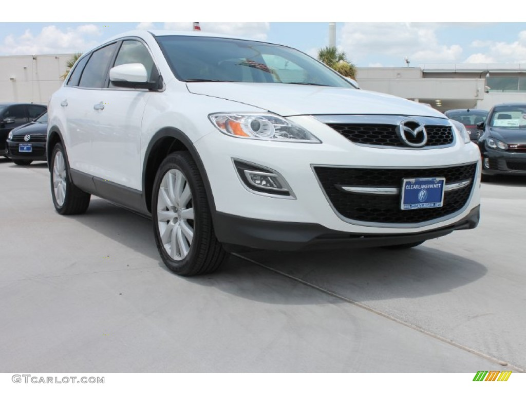 2010 crystal white pearl mica mazda cx 9 touring 83316859. Black Bedroom Furniture Sets. Home Design Ideas