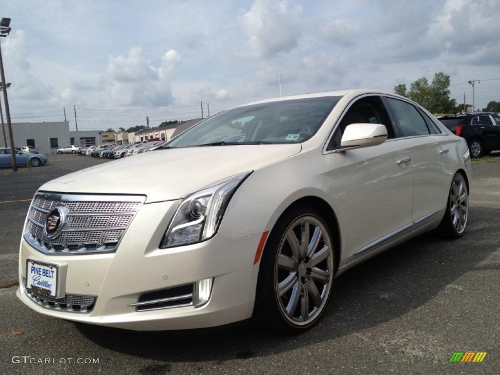 2013 White Diamond Tricoat Cadillac Xts Platinum Awd 83316857 Car Color Galleries