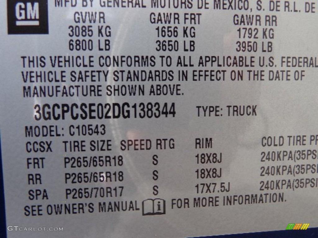 2013 Silverado 1500 LT Crew Cab - Blue Topaz Metallic / Ebony photo #25
