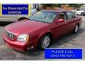 Crimson Red Pearl 2004 Cadillac DeVille DHS