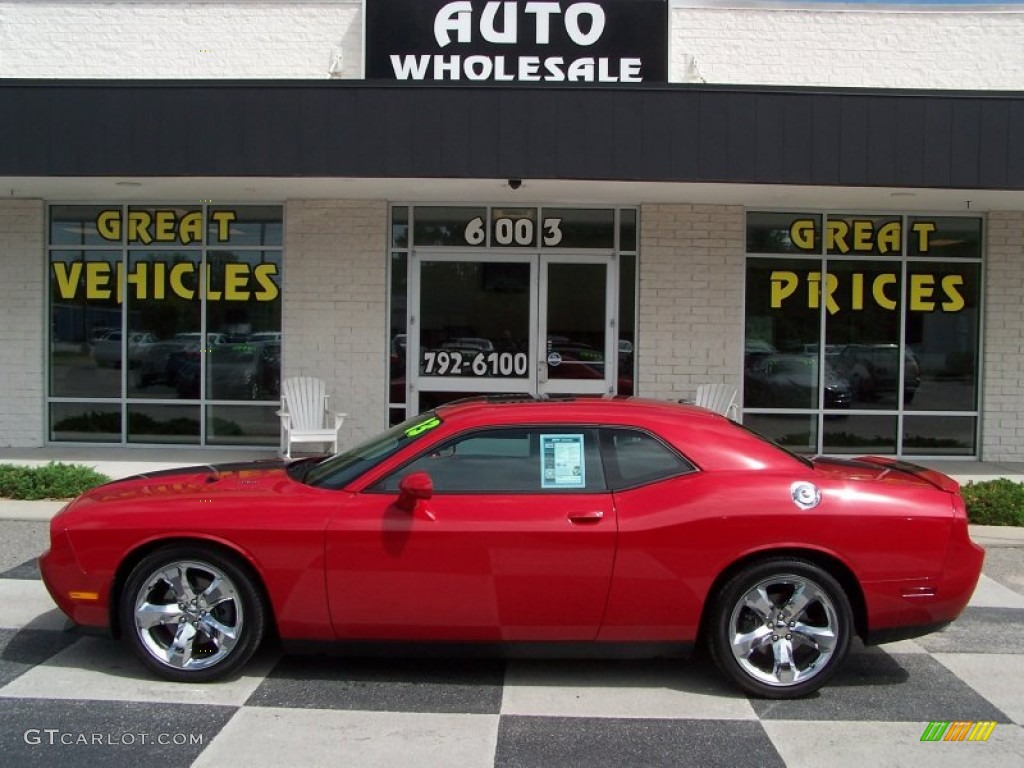 2013 Challenger R/T - Redline 3-Coat Pearl / Dark Slate Gray photo #1