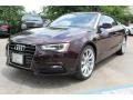 Shiraz Red Metallic - A5 2.0T quattro Cabriolet Photo No. 3