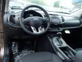 Black 2013 Kia Sportage Interiors
