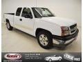 Summit White 2005 Chevrolet Silverado 1500 LS Extended Cab