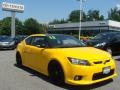 High Voltage Yellow 2012 Scion tC Release Series 7.0
