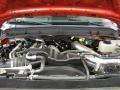 2012 Vermillion Red Ford F250 Super Duty XLT SuperCab 4x4  photo #5