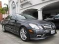 Steel Grey Metallic 2011 Mercedes-Benz E 550 Coupe