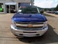 2013 Blue Topaz Metallic Chevrolet Silverado 1500 LT Extended Cab 4x4  photo #7