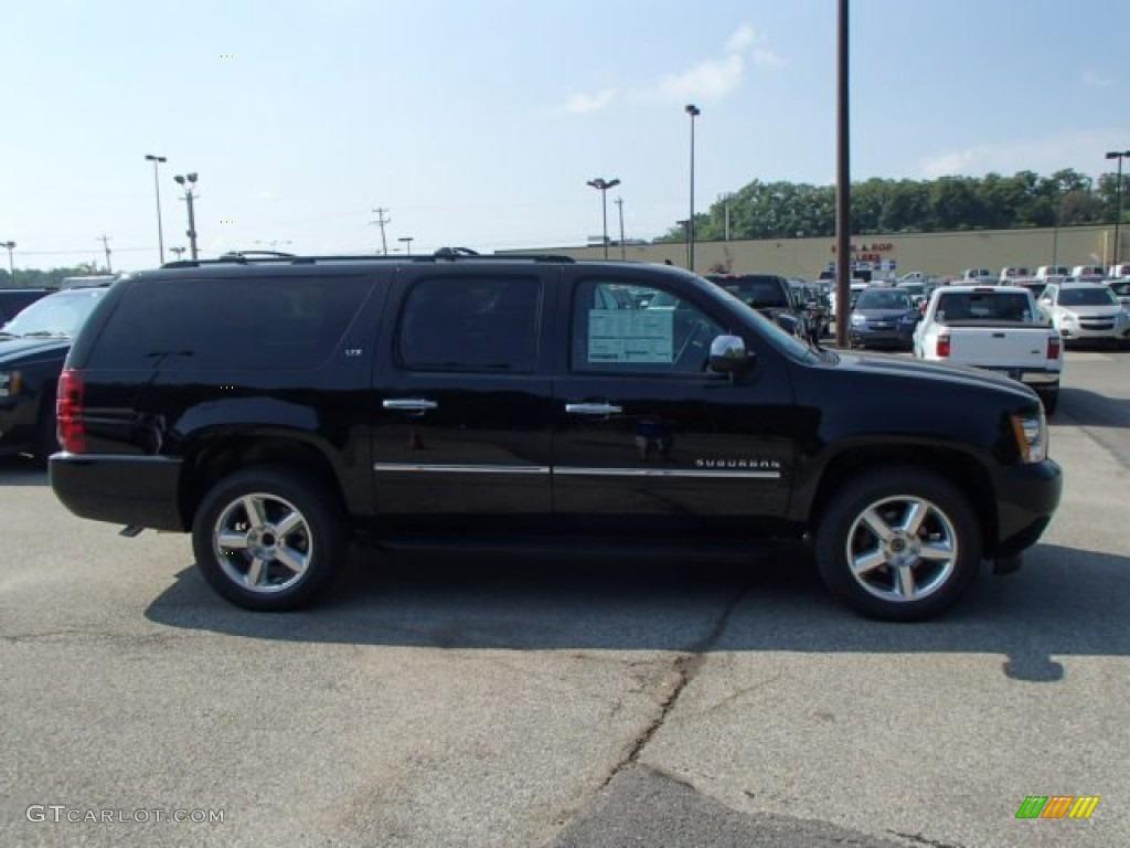 2014 Black Chevrolet Suburban Ltz 4x4 83377797 Car Color Galleries