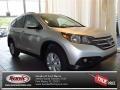 2013 Alabaster Silver Metallic Honda CR-V EX-L  photo #1