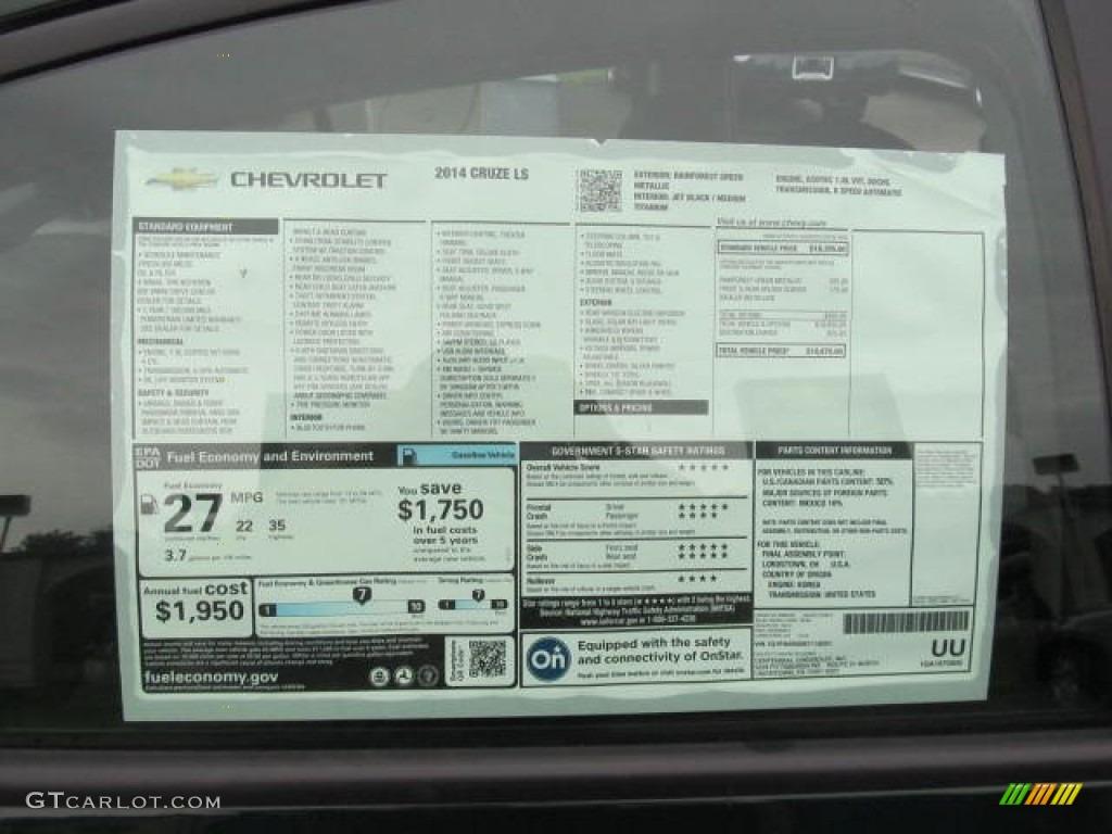 Chevy Cruze 2014 Price