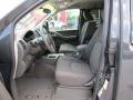 2013 Nissan Frontier Graphite Steel Interior Front Seat Photo