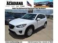 Crystal White Pearl Mica 2013 Mazda CX-5 Touring