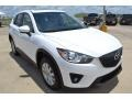 Crystal White Pearl Mica - CX-5 Touring Photo No. 8