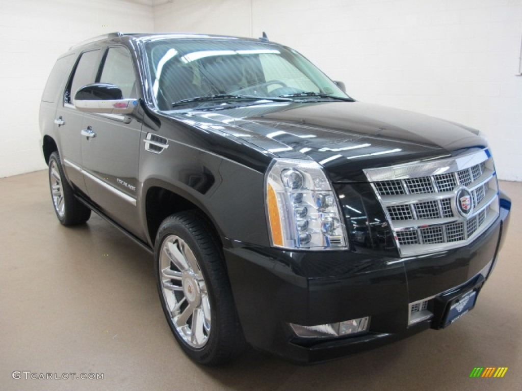 2012 black raven cadillac escalade platinum awd 83377070. Black Bedroom Furniture Sets. Home Design Ideas