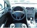 Charcoal Black Dashboard Photo for 2013 Ford Fusion #83471328