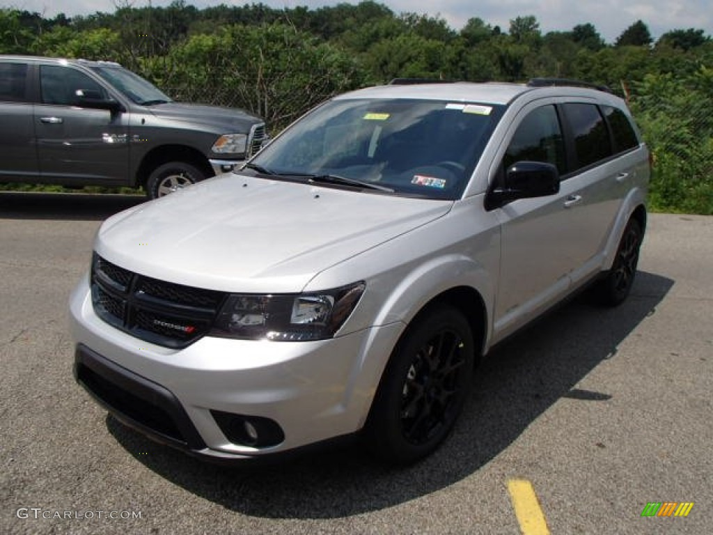bright silver metallic 2013 dodge journey sxt blacktop awd exterior photo 83476212. Black Bedroom Furniture Sets. Home Design Ideas