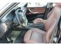 Saddle Brown/Black 2007 BMW 3 Series Interiors