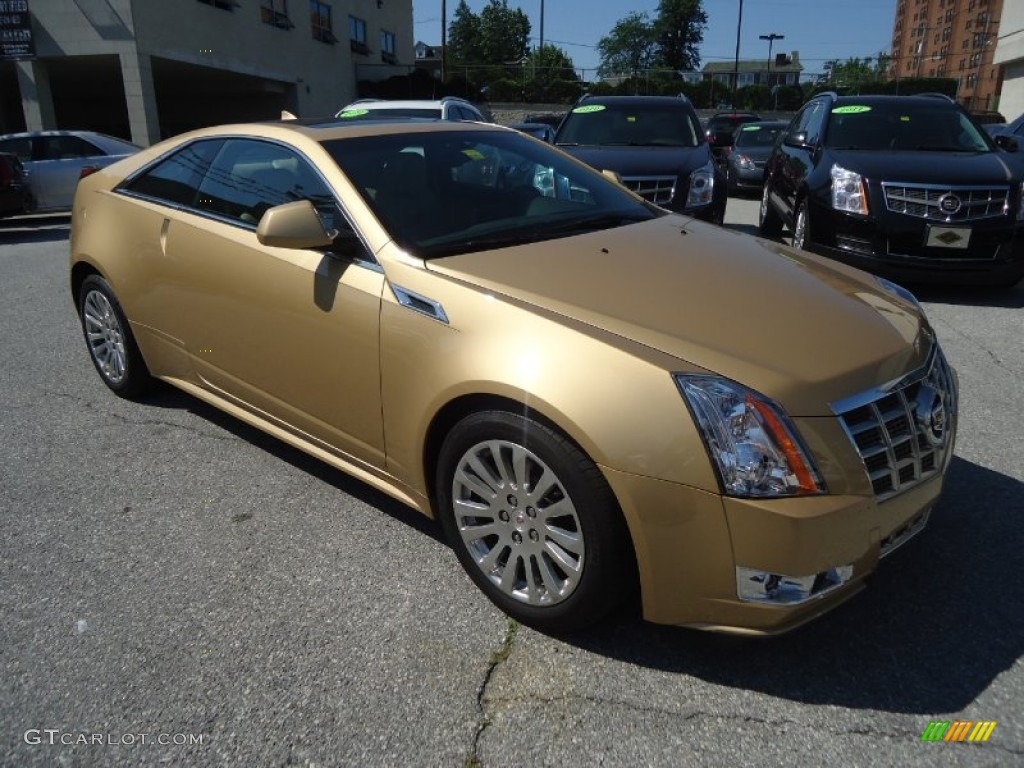 Summer Gold Metallic 2013 Cadillac CTS Coupe Exterior ...