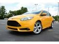 2013 Tangerine Scream Tri-Coat Ford Focus ST Hatchback #83499820