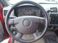 2004 GMC Canyon Pewter Interior Steering Wheel Photo