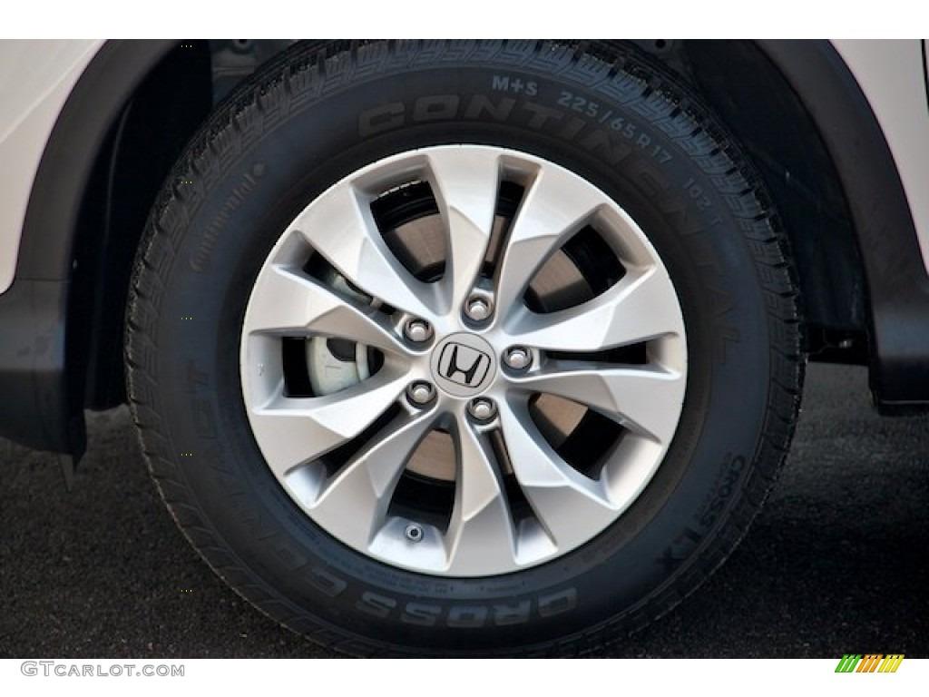 2013 CR-V EX-L AWD - Alabaster Silver Metallic / Gray photo #7
