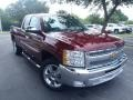 2013 Deep Ruby Metallic Chevrolet Silverado 1500 LT Extended Cab  photo #1