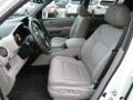 2011 Honda Pilot Gray Interior Front Seat Photo