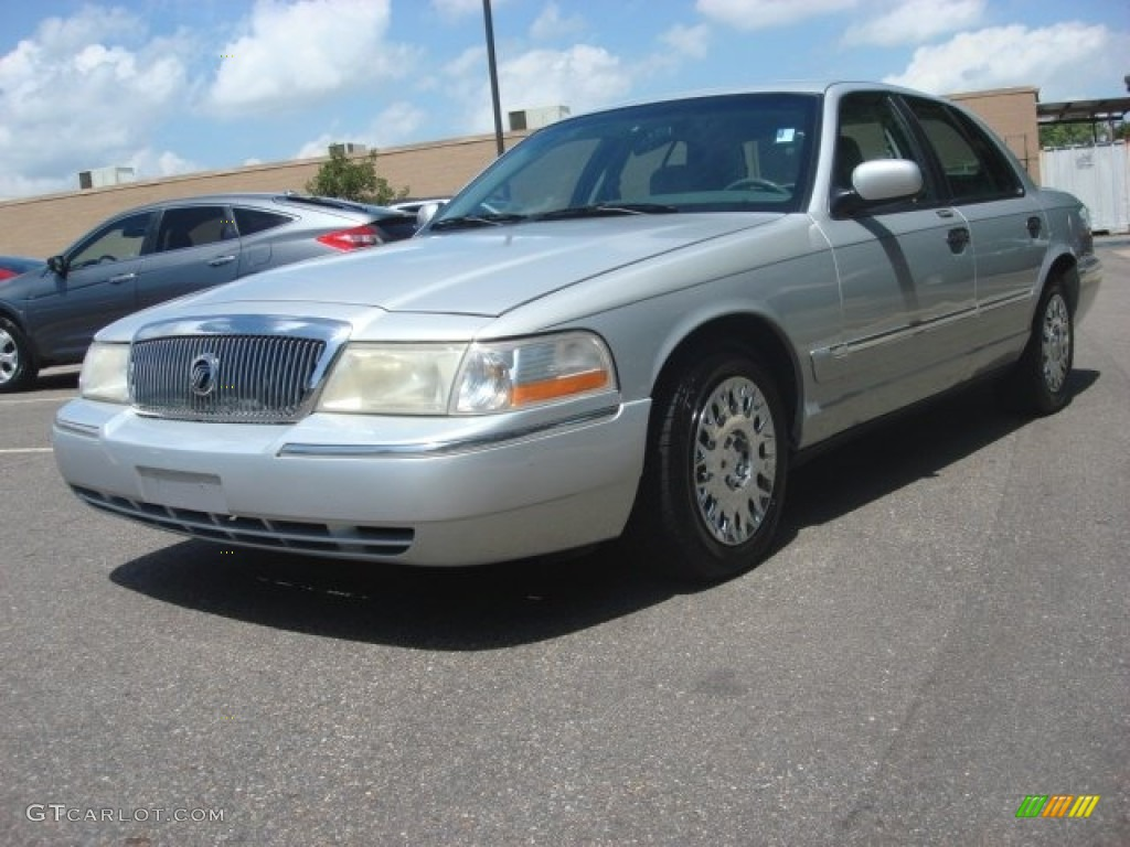 2003 silver frost metallic mercury grand marquis gs 83500941 photo 5 car. Black Bedroom Furniture Sets. Home Design Ideas