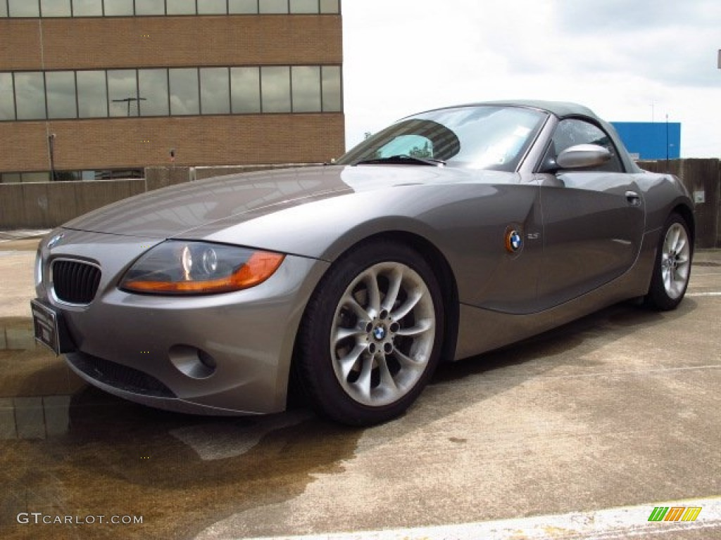 Sterling Grey Metallic 2003 Bmw Z4 2 5i Roadster Exterior