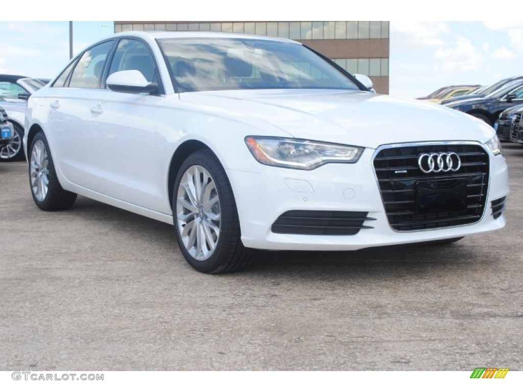 2014 ibis white audi a6 3 0 tdi quattro sedan 83500457. Black Bedroom Furniture Sets. Home Design Ideas