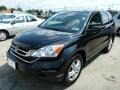 2010 Crystal Black Pearl Honda CR-V EX  photo #7