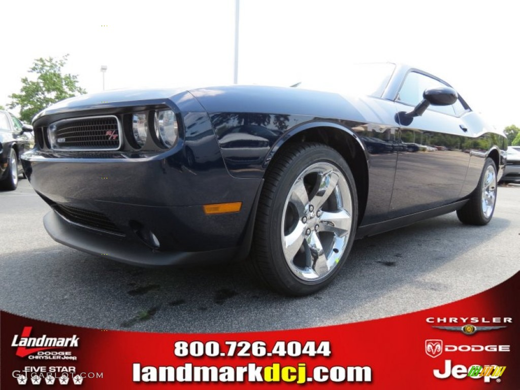 2013 Challenger R/T - Jazz Blue Pearl / Dark Slate Gray photo #1