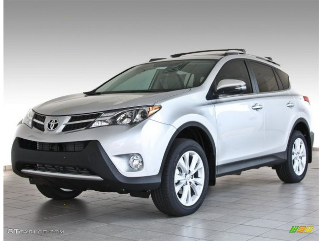 2013 classic silver metallic toyota rav4 limited 83500898 car color galleries. Black Bedroom Furniture Sets. Home Design Ideas