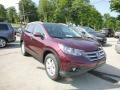 2013 Basque Red Pearl II Honda CR-V EX-L AWD  photo #1