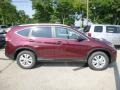 2013 Basque Red Pearl II Honda CR-V EX-L AWD  photo #2